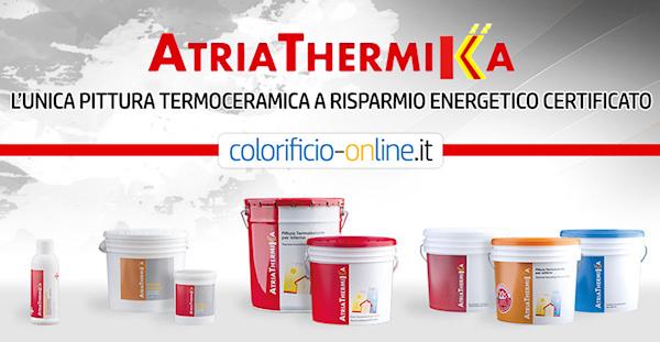 PITTURA TERMOISOLANTE ANTIMUFFA A RISPARMIO ENERGETICO ATRIATHERMIKA  BLOG FAI-DA-TE : La guida ...