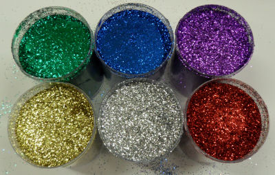 Glitter brillantini per decorazioni murali e decoupage - Come pitturare casa ...